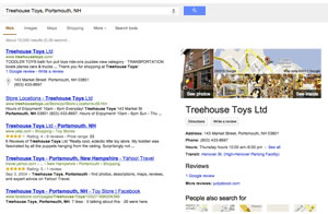 Google Business Photos in Search Results