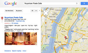Google Business Photos in Map