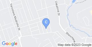 Местоположение «ул. Пивденна, 5» на карте