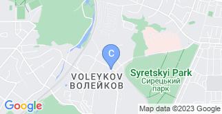 Местоположение «ЖК Затишний» на карте