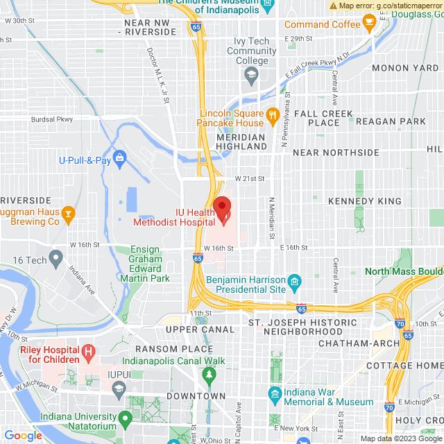 Map via Google