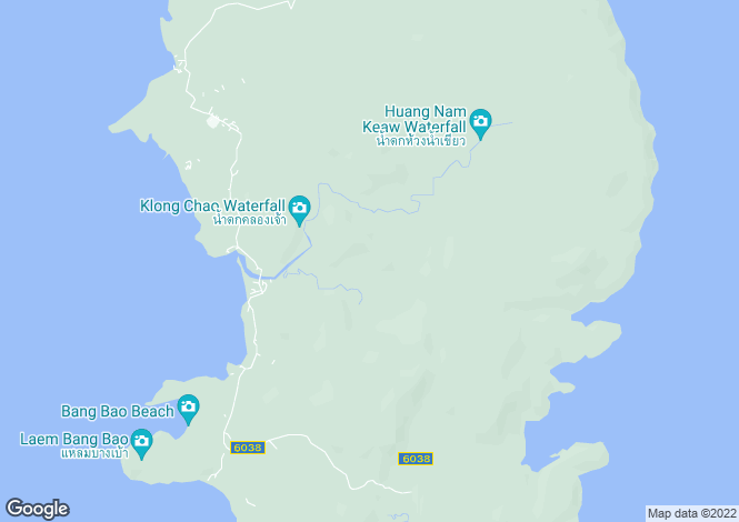 Map for Trat, Koh Kood