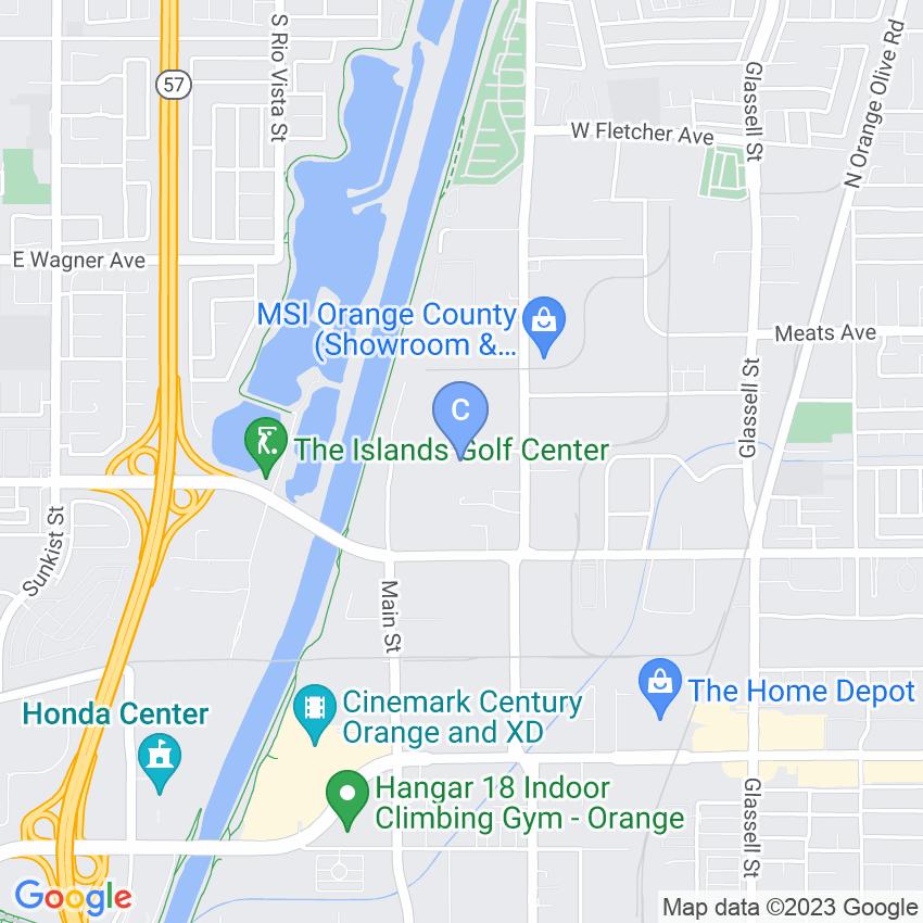 Century Industries map