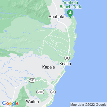 96751 Kealia,HI- map, population, zip codes, coutnies, area codes, time zones, households, income, news, weather, metro areas, local time at localistica.com
