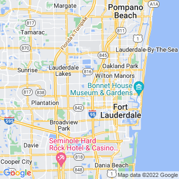 Fort Lauderdale,fl- map, population, zip codes, coutnies, area codes, time zones, households, income, news, weather, metro areas, local time at localistica.com