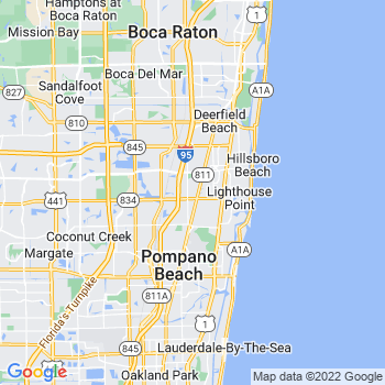 Pompano Beach,fl- map, population, zip codes, coutnies, area codes, time zones, households, income, news, weather, metro areas, local time at localistica.com