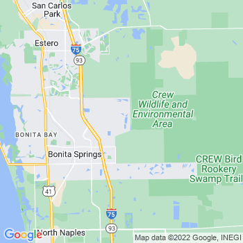 Bonita Springs,fl- map, population, zip codes, coutnies, area codes, time zones, households, income, news, weather, metro areas, local time at localistica.com
