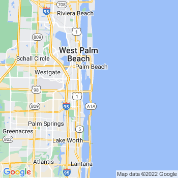 Palm Beach,fl- map, population, zip codes, coutnies, area codes, time zones, households, income, news, weather, metro areas, local time at localistica.com
