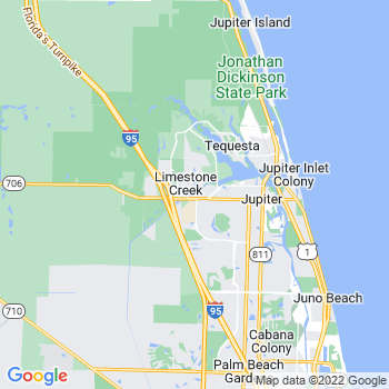 Jupiter,fl- map, population, zip codes, coutnies, area codes, time zones, households, income, news, weather, metro areas, local time at localistica.com