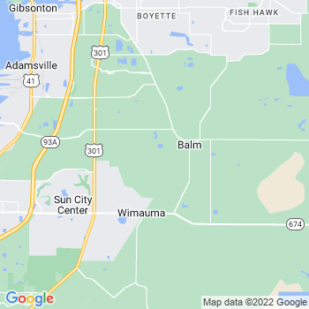 Balm,fl- map, population, zip codes, coutnies, area codes, time zones, households, income, news, weather, metro areas, local time at localistica.com