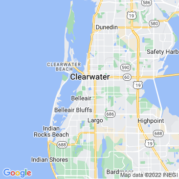 Clearwater,fl- map, population, zip codes, coutnies, area codes, time zones, households, income, news, weather, metro areas, local time at localistica.com