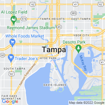 33601 Tampa,FL- map, population, zip codes, coutnies, area codes, time zones, households, income, news, weather, metro areas, local time at localistica.com