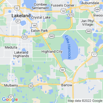 Highland City,fl- map, population, zip codes, coutnies, area codes, time zones, households, income, news, weather, metro areas, local time at localistica.com
