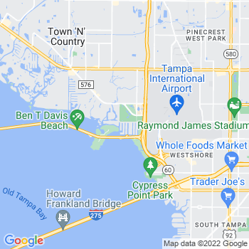 33607 Tampa,FL- map, population, zip codes, coutnies, area codes, time zones, households, income, news, weather, metro areas, local time at localistica.com