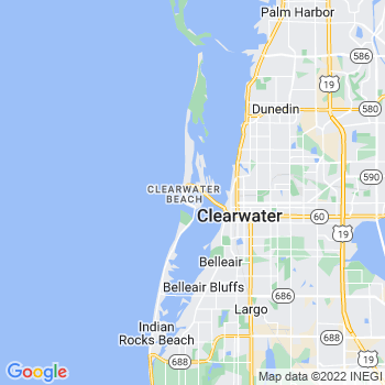 Clearwater Beach,fl- map, population, zip codes, coutnies, area codes, time zones, households, income, news, weather, metro areas, local time at localistica.com
