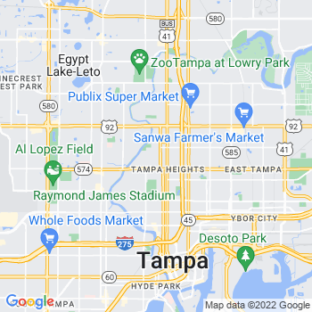 33603 Tampa,FL- map, population, zip codes, coutnies, area codes, time zones, households, income, news, weather, metro areas, local time at localistica.com