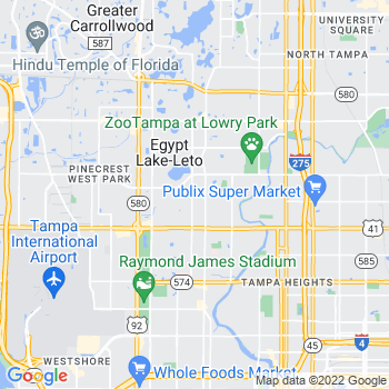 33688 Tampa,FL- map, population, zip codes, coutnies, area codes, time zones, households, income, news, weather, metro areas, local time at localistica.com