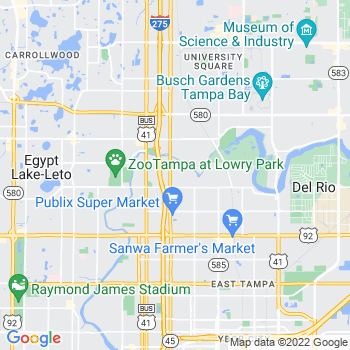 33604 Tampa,FL- map, population, zip codes, coutnies, area codes, time zones, households, income, news, weather, metro areas, local time at localistica.com
