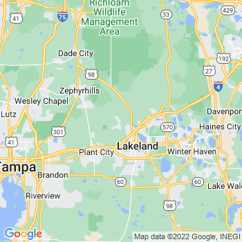 Lakeland, FL- map, population, zip codes, coutnies, area codes, time zones, households, income, news, weather, metro areas, local time at localistica.com