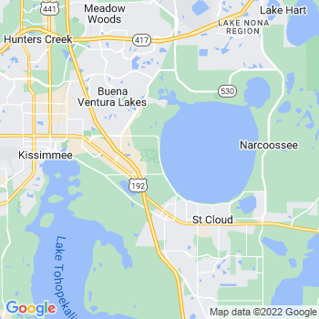 Kissimmee,fl- map, population, zip codes, coutnies, area codes, time zones, households, income, news, weather, metro areas, local time at localistica.com