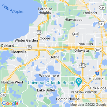 Gotha,fl- map, population, zip codes, coutnies, area codes, time zones, households, income, news, weather, metro areas, local time at localistica.com