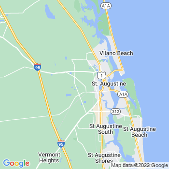 Saint Augustine,fl- map, population, zip codes, coutnies, area codes, time zones, households, income, news, weather, metro areas, local time at localistica.com