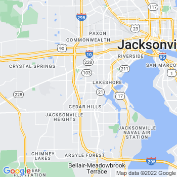 Jacksonville,fl- map, population, zip codes, coutnies, area codes, time zones, households, income, news, weather, metro areas, local time at localistica.com
