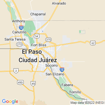 El Paso, TX- map, population, zip codes, coutnies, area codes, time zones, households, income, news, weather, metro areas, local time at localistica.com