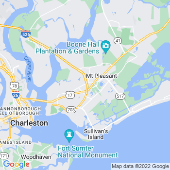 Mount Pleasant,sc- map, population, zip codes, coutnies, area codes, time zones, households, income, news, weather, metro areas, local time at localistica.com
