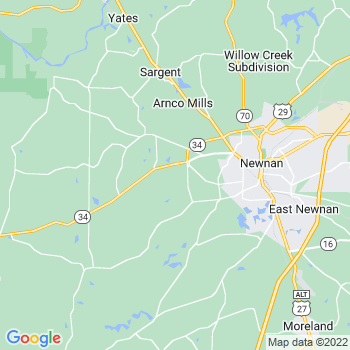 Newnan,ga- map, population, zip codes, coutnies, area codes, time zones, households, income, news, weather, metro areas, local time at localistica.com