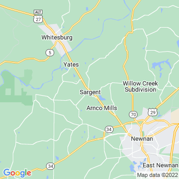 Sargent,ga- map, population, zip codes, coutnies, area codes, time zones, households, income, news, weather, metro areas, local time at localistica.com