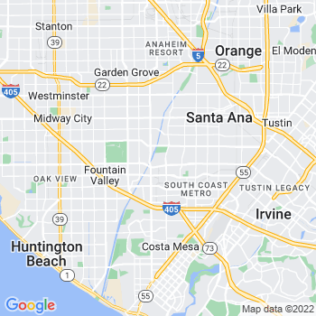 Santa Ana,ca- map, population, zip codes, coutnies, area codes, time zones, households, income, news, weather, metro areas, local time at localistica.com
