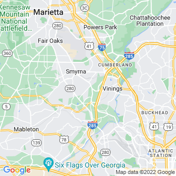 Smyrna,ga- map, population, zip codes, coutnies, area codes, time zones, households, income, news, weather, metro areas, local time at localistica.com