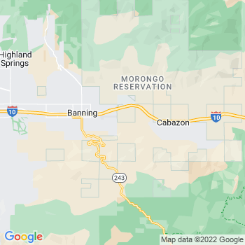 Banning,ca- map, population, zip codes, coutnies, area codes, time zones, households, income, news, weather, metro areas, local time at localistica.com