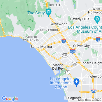 Santa Monica,ca- map, population, zip codes, coutnies, area codes, time zones, households, income, news, weather, metro areas, local time at localistica.com