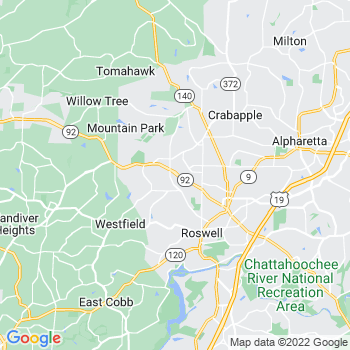 Roswell,ga- map, population, zip codes, coutnies, area codes, time zones, households, income, news, weather, metro areas, local time at localistica.com