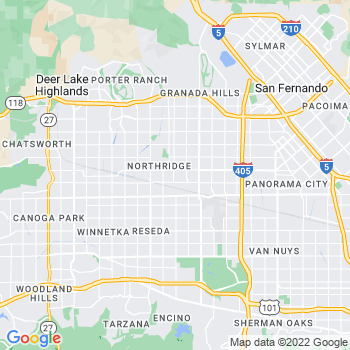 Northridge,ca- map, population, zip codes, coutnies, area codes, time zones, households, income, news, weather, metro areas, local time at localistica.com
