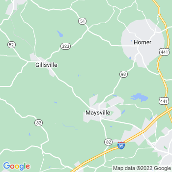 Maysville,ga- map, population, zip codes, coutnies, area codes, time zones, households, income, news, weather, metro areas, local time at localistica.com