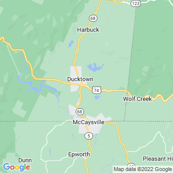 Ducktown,tn- map, population, zip codes, coutnies, area codes, time zones, households, income, news, weather, metro areas, local time at localistica.com