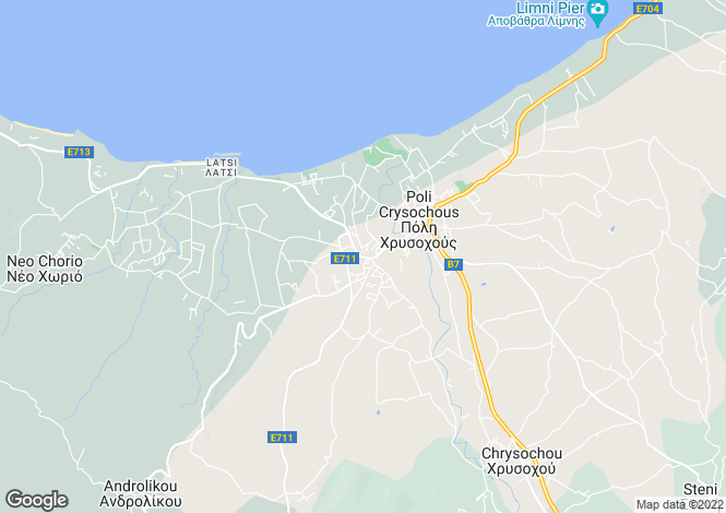 Map for Girne, Karsiyaka
