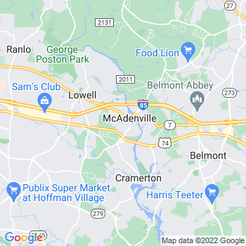 28101 Mc Adenville,NC- map, population, zip codes, coutnies, area codes, time zones, households, income, news, weather, metro areas, local time at localistica.com