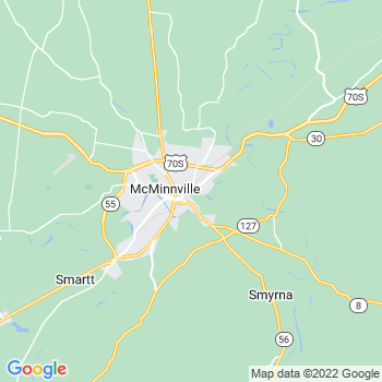 Mcminnville,tn- map, population, zip codes, coutnies, area codes, time zones, households, income, news, weather, metro areas, local time at localistica.com