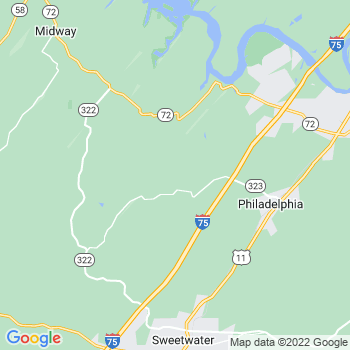 Philadelphia,tn- map, population, zip codes, coutnies, area codes, time zones, households, income, news, weather, metro areas, local time at localistica.com