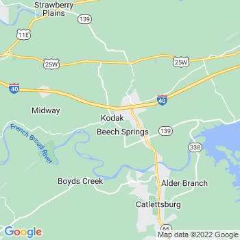 Kodak,tn- map, population, zip codes, coutnies, area codes, time zones, households, income, news, weather, metro areas, local time at localistica.com