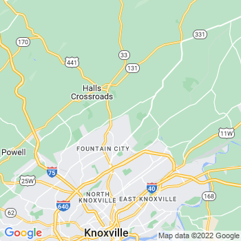 Knoxville,tn- map, population, zip codes, coutnies, area codes, time zones, households, income, news, weather, metro areas, local time at localistica.com
