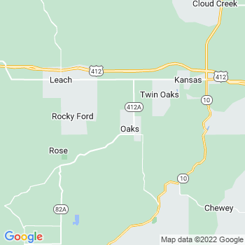 Oaks,ok- map, population, zip codes, coutnies, area codes, time zones, households, income, news, weather, metro areas, local time at localistica.com