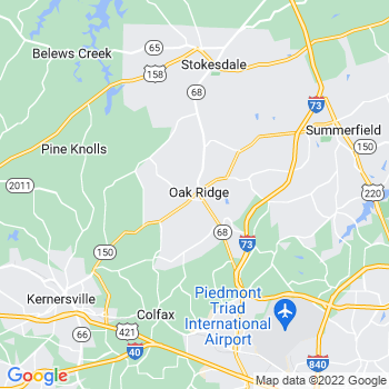 Oak Ridge,nc- map, population, zip codes, coutnies, area codes, time zones, households, income, news, weather, metro areas, local time at localistica.com