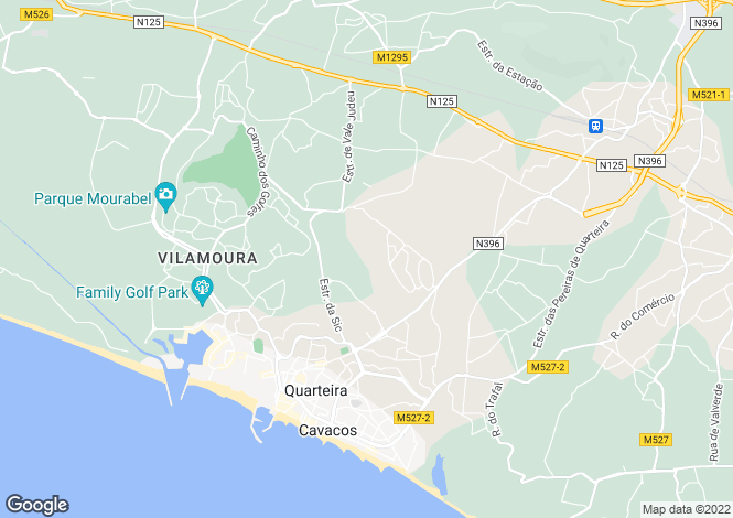 Map for Vilamoura, Algarve, Portugal