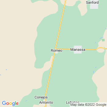 Romeo,co- map, population, zip codes, coutnies, area codes, time zones, households, income, news, weather, metro areas, local time at localistica.com