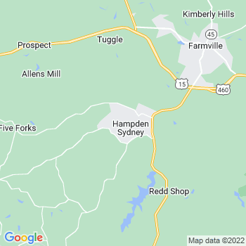 Hampden Sydney,va- map, population, zip codes, coutnies, area codes, time zones, households, income, news, weather, metro areas, local time at localistica.com